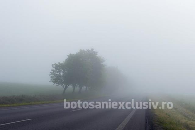 ALERTĂ METEO – Cod GALBEN de ceață în 22 de județe