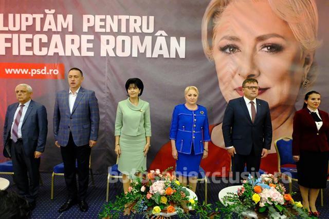 VIDEO/FOTO –  Premierul Viorica Dăncilă a fost prezentă marți, la Botoșani