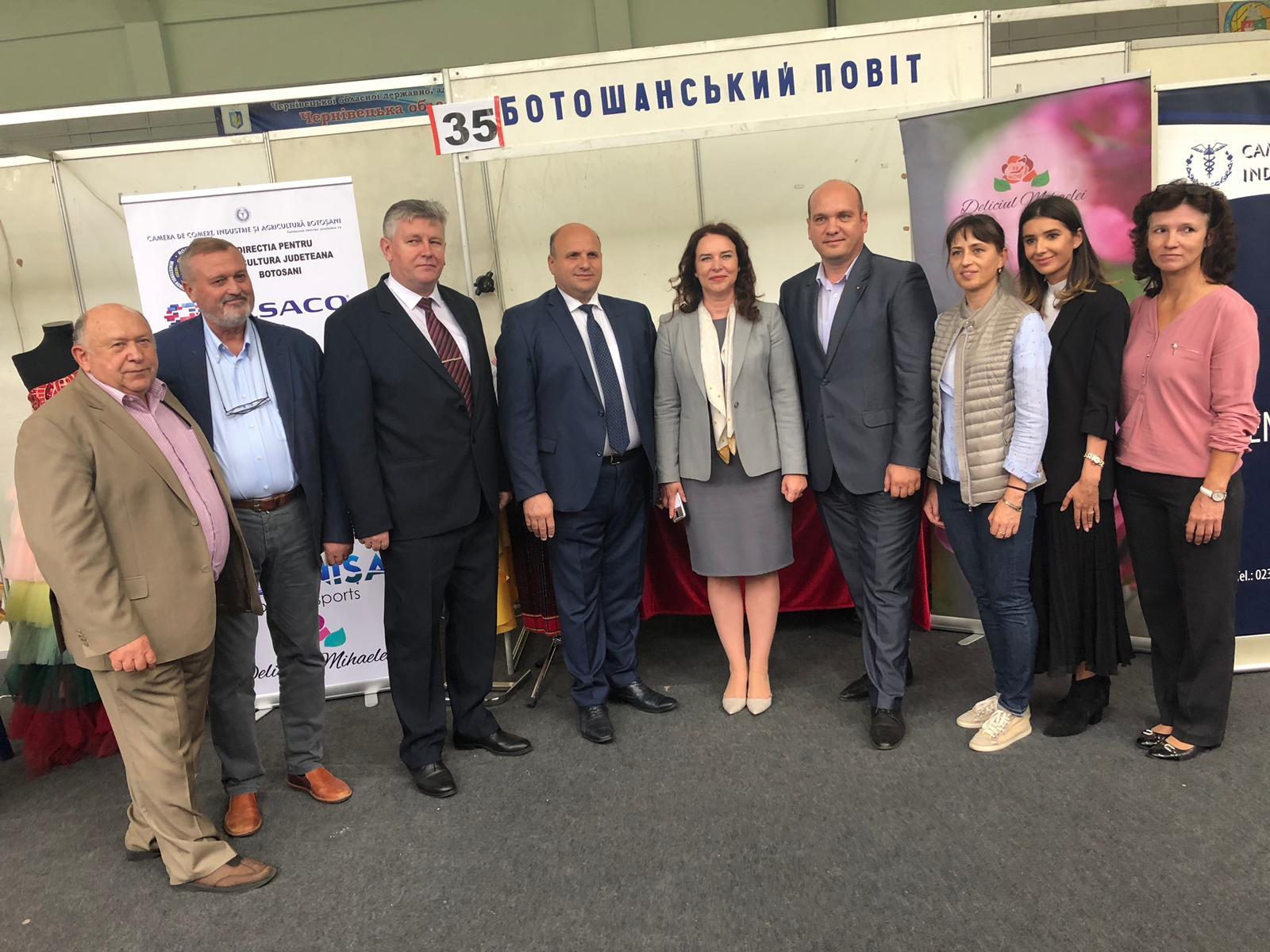 """Firme botoșănene prezente la expoziția internațională """"Produs în Euroregiunea Prutul de Sus"""""""