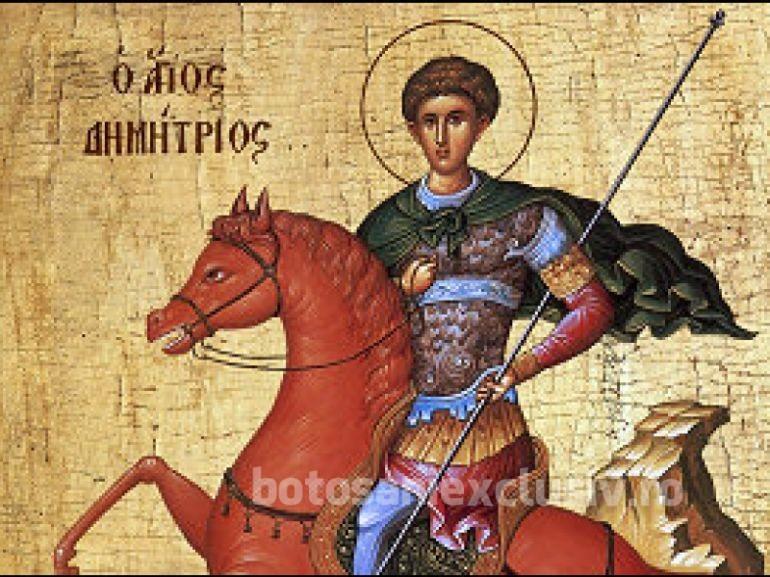 CALENDAR: Astăzi îl sărbătorim pe Sfântul Dumitru!