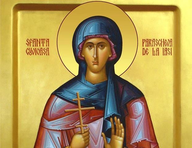 CALENDAR 14 octombrie:  Creștinii ortodocși o cinstesc astăzi pe Sfânta Cuvioasă Parascheva