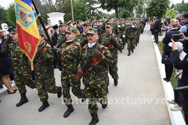 Ziua Armatei României, sărbătorită la Botoşani