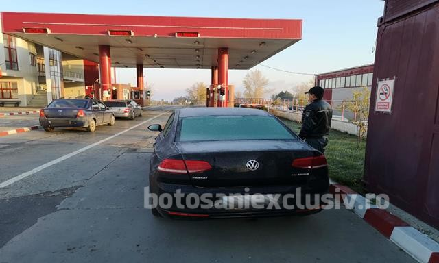 Volkswagen Passat căutat în Lituania,  depistat la controlul de frontieră