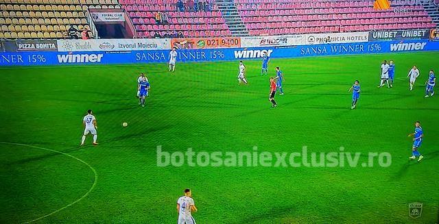 VOLUNTARI – FC BOTOȘANI 1-2.  Elevii lui Croitoru reușesc să întoarcă scorul