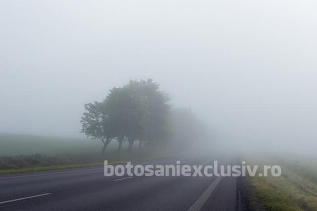 Cod galben de vreme severă imediată în județele Botoșani și Suceava