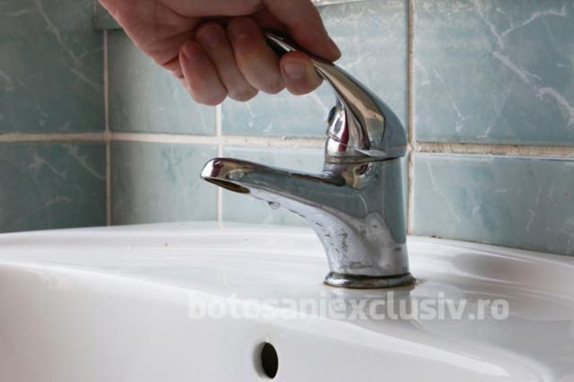 Datornicii la furnizorul de  apă și canalizare vor fi debranșați, marți, de la rețea