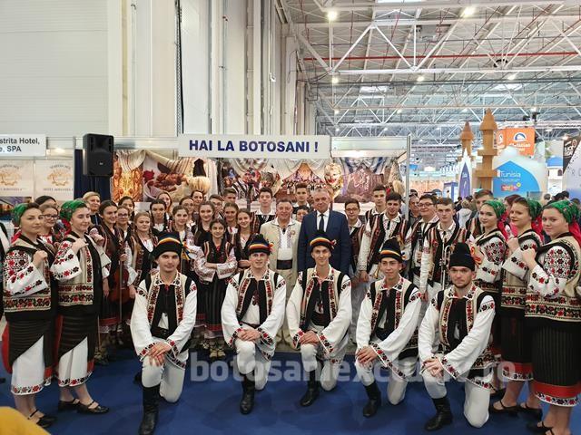 Judeţul Botoşani reprezentat la Târgul de Turism al României