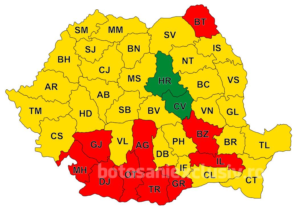 Botoșani – singurul județ din Moldova unde a câștigat Viorica Dăncilă