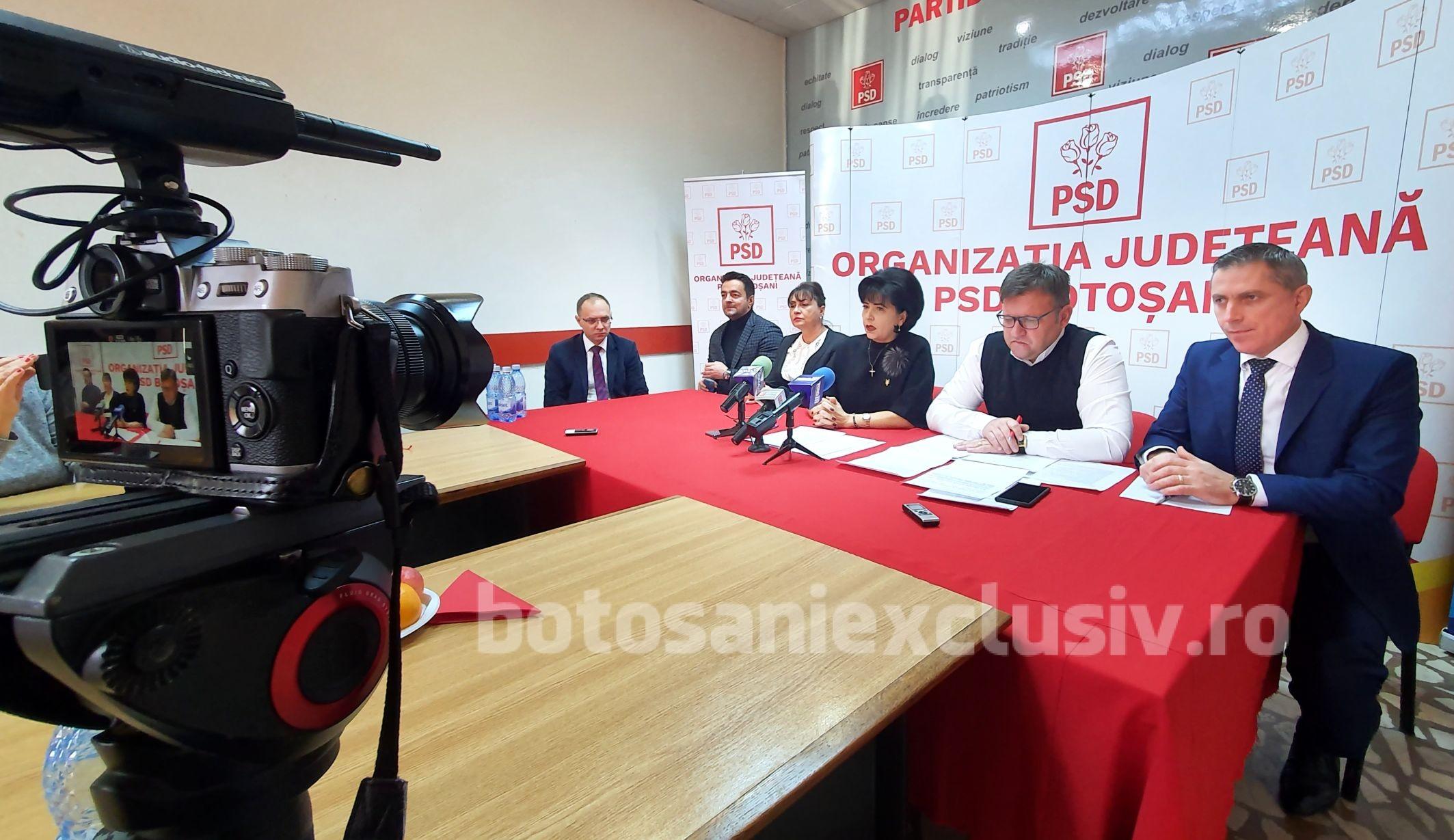 MOȘ NICOLAE a adus, OFICIAL, candidatul PSD la funcția de primar al municipiului Botoșani