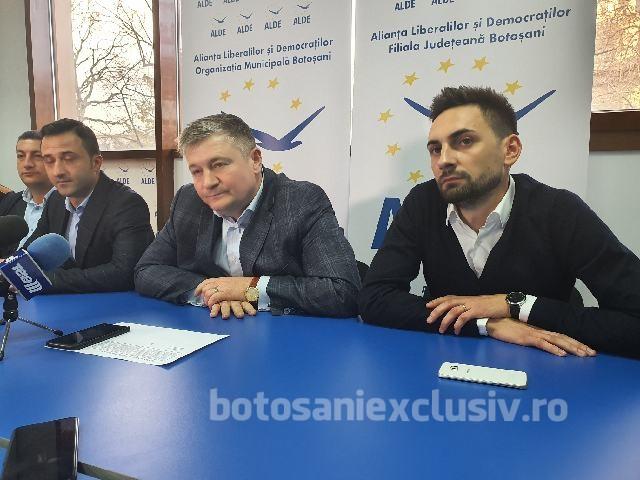ALDE a desemnat candidatul pentru funcția de primar al municipiului Dorohoi