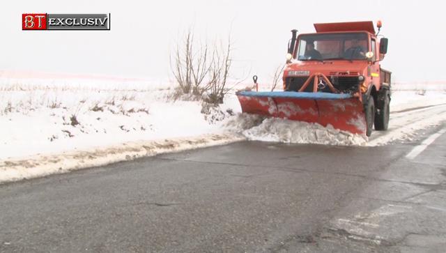 CP:  Ninsori și viscol la sol în mai multe județe ale Moldovei. Starea drumurilor naționale