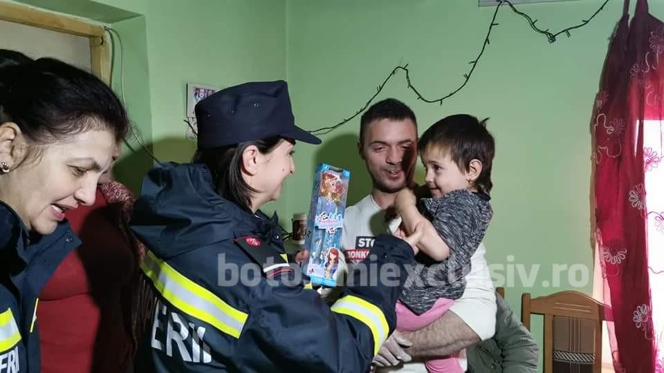 FOTO/  Speranță oferită de pompierii botoșăneni