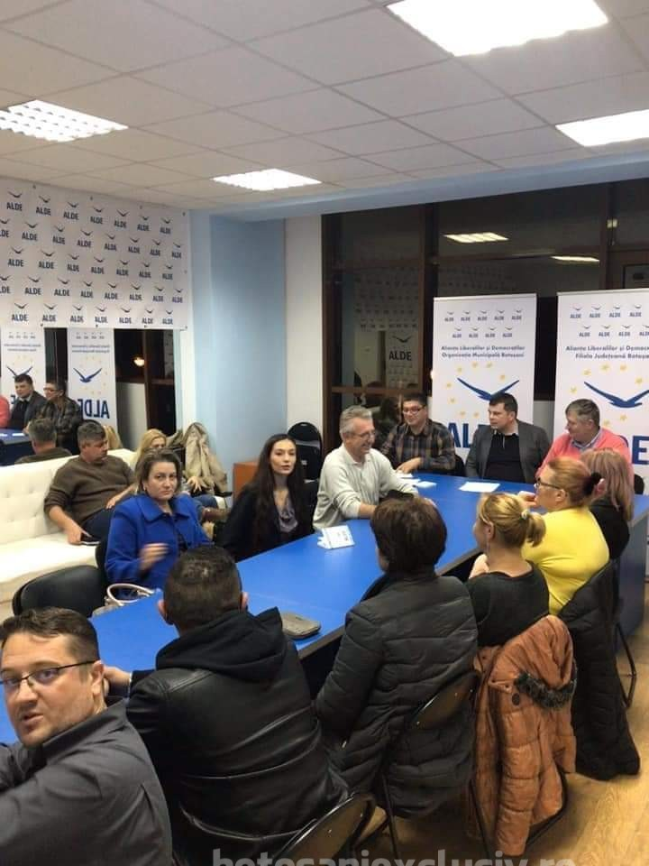 Noi membri alaturi de echipa ALDE Botosani!