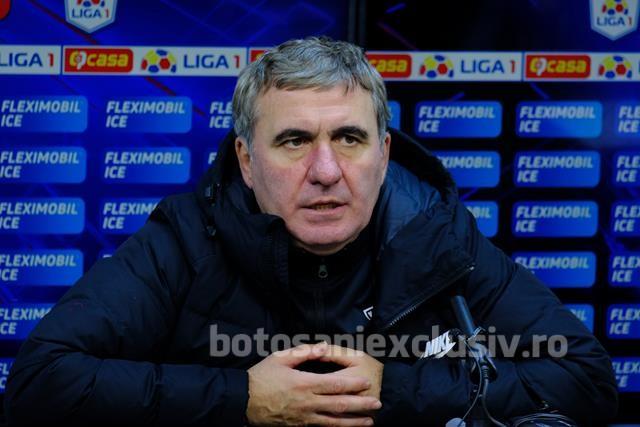 """VIDEO/  GICĂ HAGI:  """"Oricum la Botoșani s-a făcut o muncă bună. Îl felicit pe Marius"""""""
