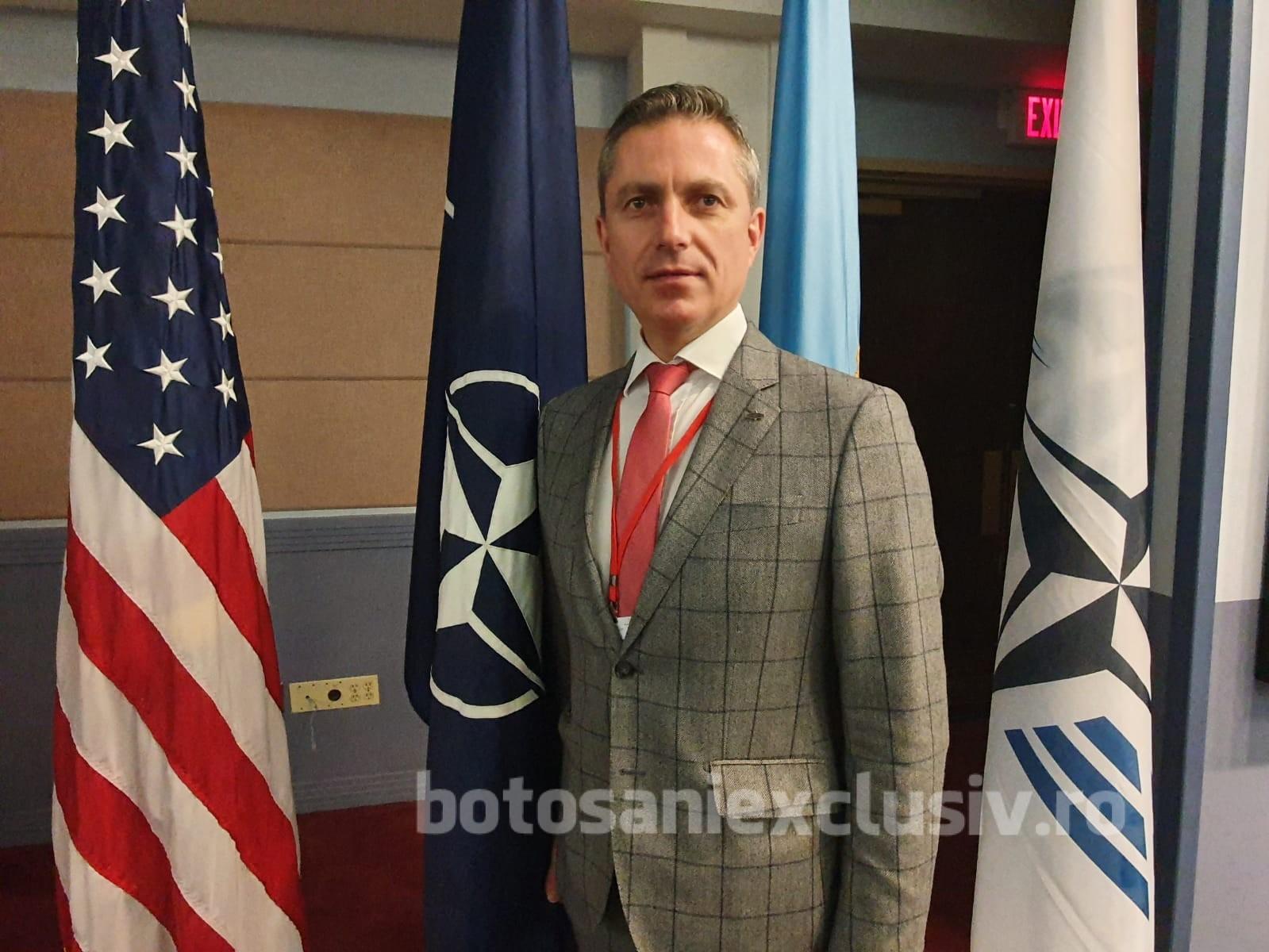 Deputatul Costel Lupașcu prezent în Washington D.C. – SUA laForumul Parlamentar Transatlantic