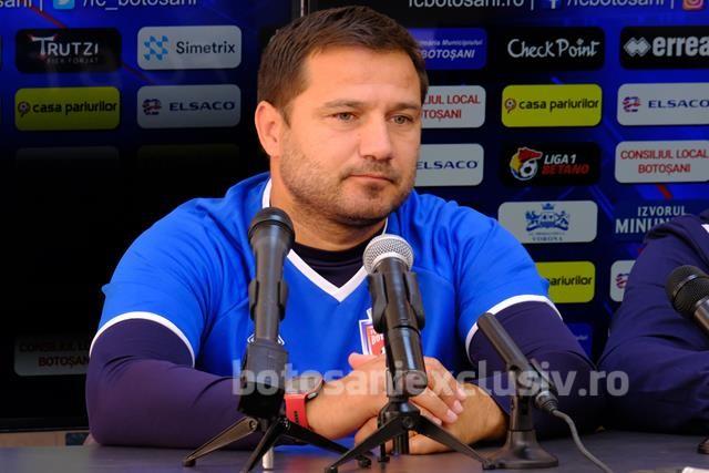 """MARIUS CROITORU: """"Botoșaniul este o echipa care joacă fotbal. Toți cred , că toți se tem de Botoșani"""""""