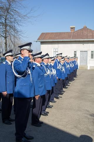 Jandarmii, alături de botoşăneni la Ziua Națională a României