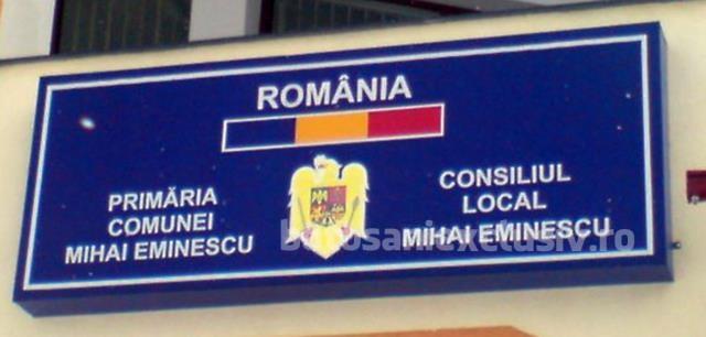 ANUNȚ PRIMĂRIA M. EMINESCU: Regulamentul privind ocuparea sau parcarea pe domeniul public a autovehiculelor care împiedică procesul de deszăpezire în sezonul rece