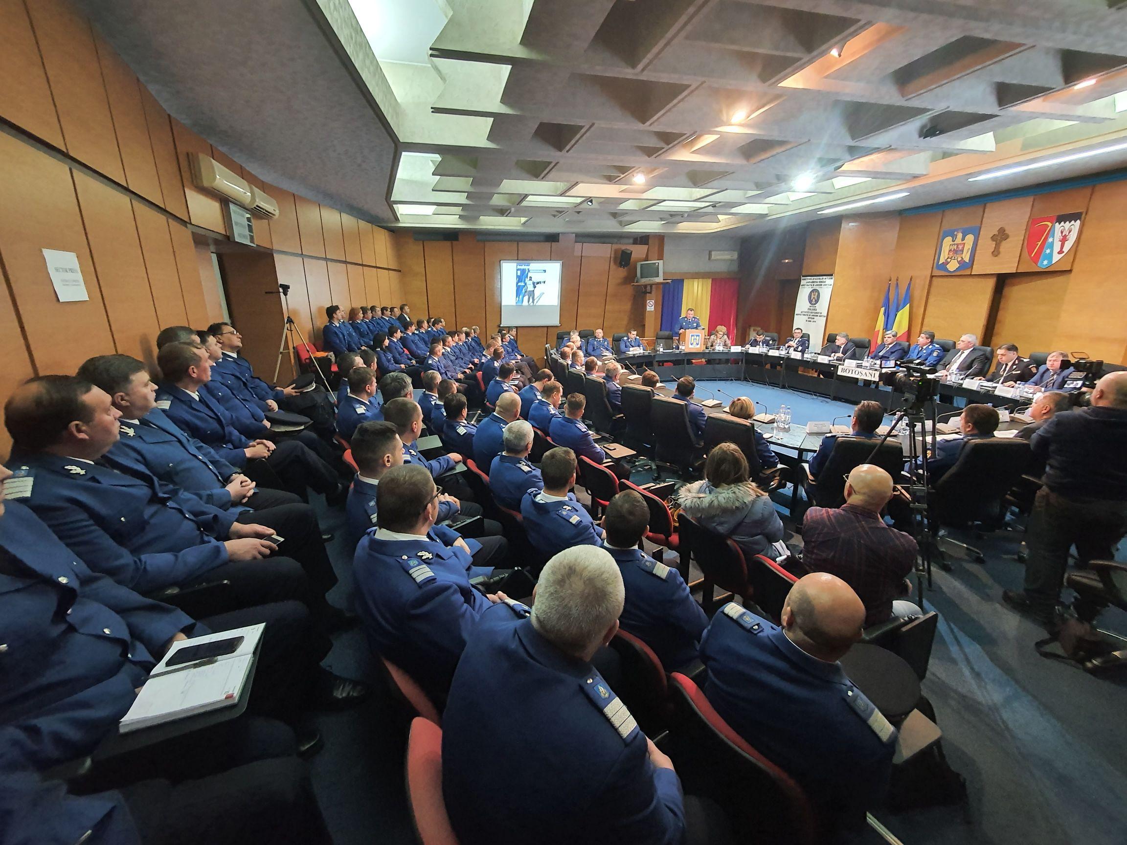 FOTO / Evaluarea activității și rezultatele obținute de Inspectoratul de Jandarmi Județean Botoșani în anul 2019