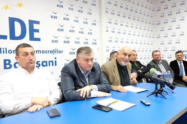 ProMold – Programul pentru Dezvoltarea Moldovei prezentat de Varujan Vosganian, într-o conferință de presă la sediul ALDE – Botoșani