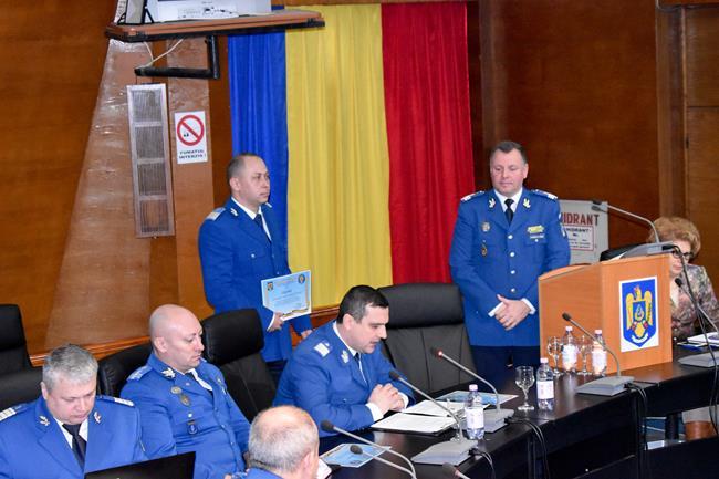 Jandarmul de onoare al județului Botoșani în anul 2019