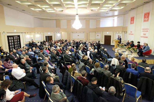 VIDEO/FOTO    PSD-iștii botoșăneni mai uniți că niciodată. Critici dure la adresa guvernului Orban