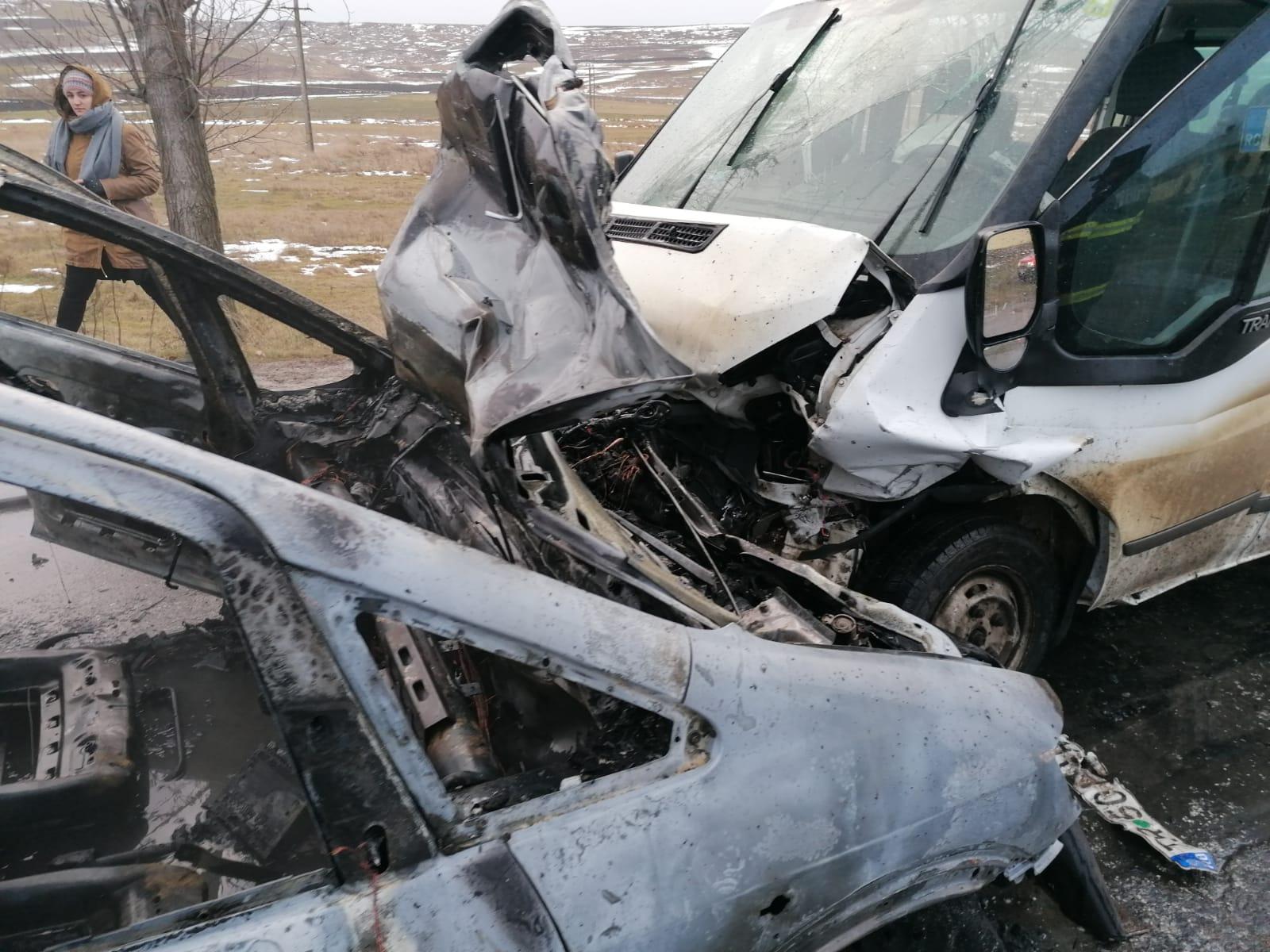 FOTO/ Grav accident pe raza comunei Gorbănești.  A fost activat PLANUL ROȘU DE INTERVENȚIE