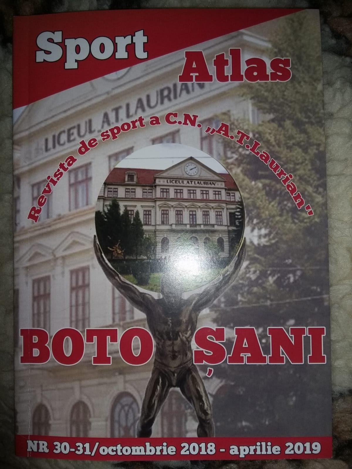 Publicație sportivă relansată la Botoșani