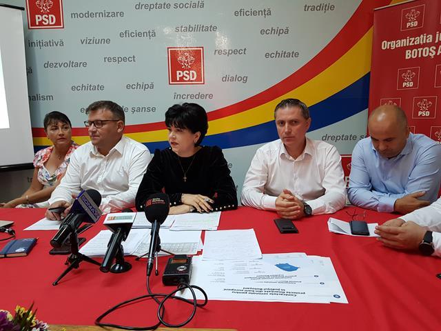 """(CP)  PSD Botoșani: """"Orban și Iohannis blochează majorarea alocațiilor pentru toți copiii din românia"""""""