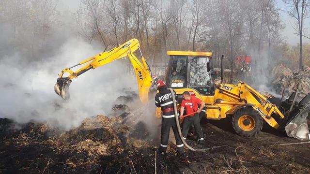 129 de misiuni în ultima săptămână pentru pompierii botoșăneni