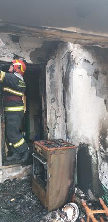 COMUNA LUNCA: Bărbat decedat într-un incendiu