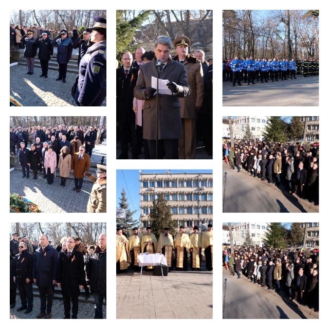 VIDEO/FOTO   24 ianuarie, Ziua Unirii Principatelor Române, sărbătorită și la Botoșani
