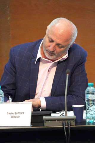 """Senator Costel Șoptică:  """"Ne-am obișnuit cu tot felul de atacuri din partea PSD, pe care le demontăm de fiecare dată cu argumente"""""""