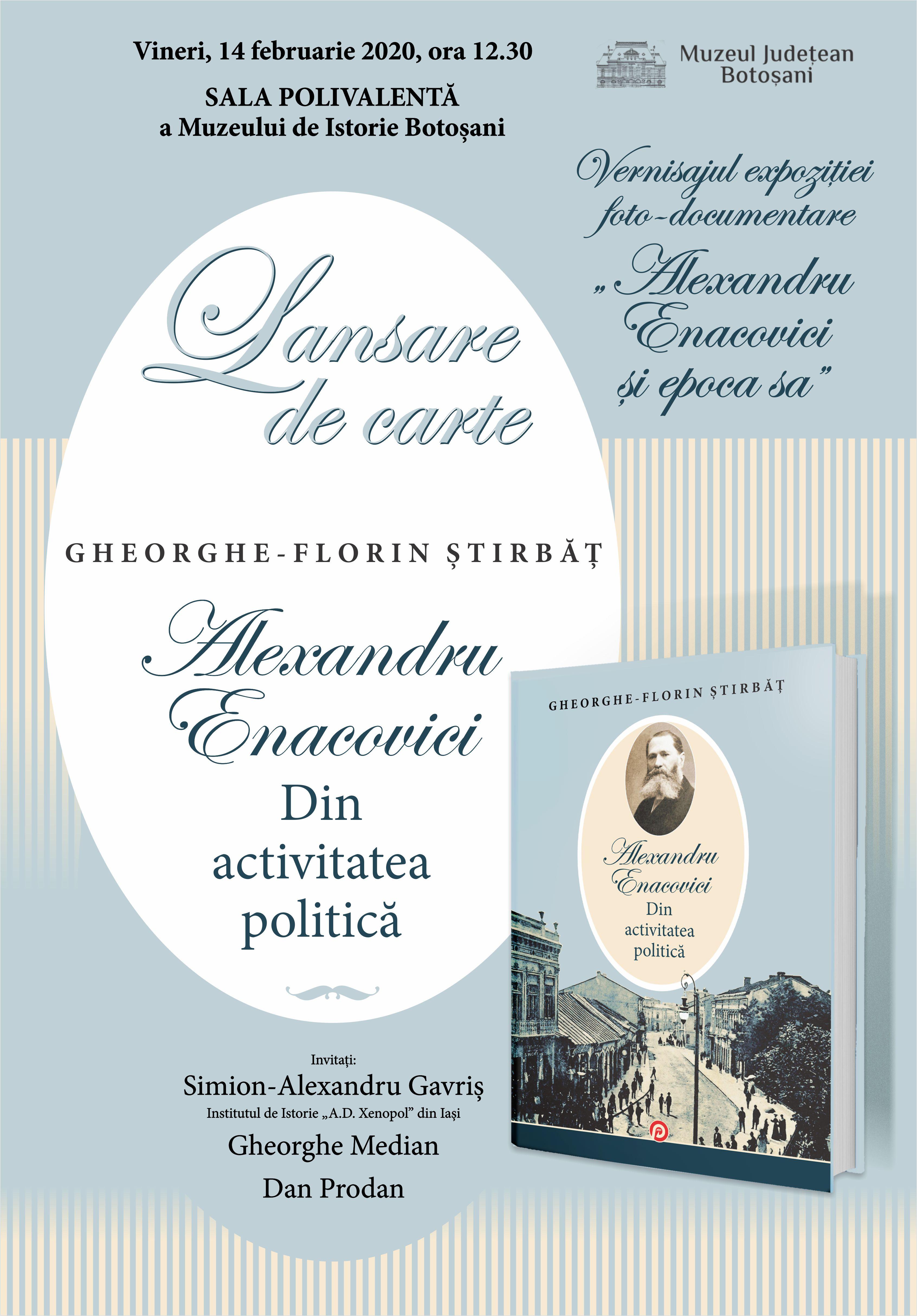 Expozitie si lansare de carte la Muzeul Judetean Botosani