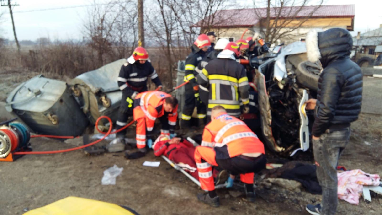 Accident cu victime în comuna Vorona