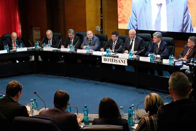 Vizită ministerială la Botoșani! Problemele ce vizează apele, pădurile, pescuitul și fondul cinegetic dezbătute în prezența ministrului Mediului