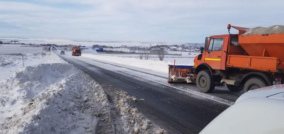 Toate drumurile naționale din Moldova, deschise circulației