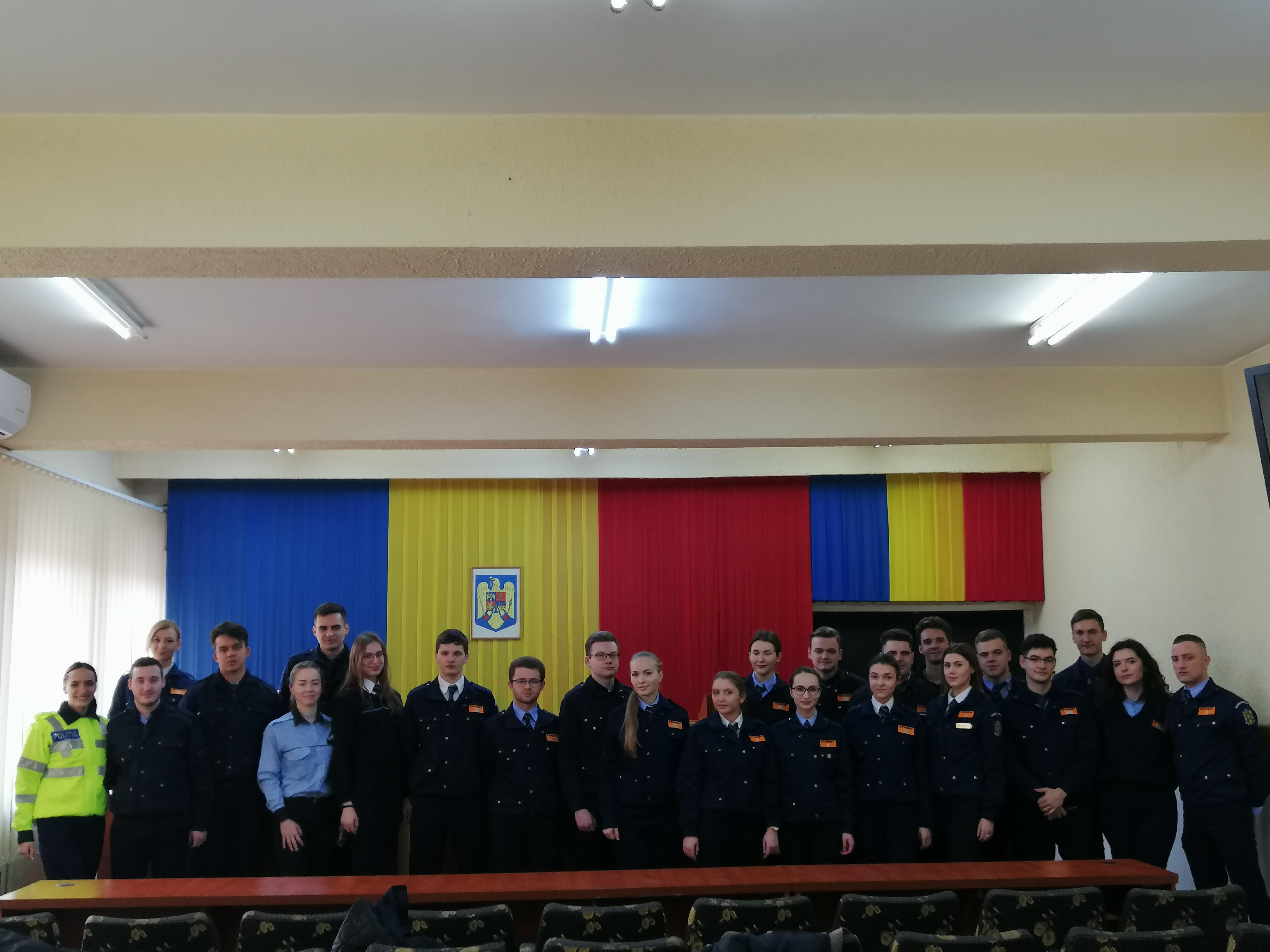Studenți ai Academiei de Poliție în practică la IJP și IJJ Botoșani