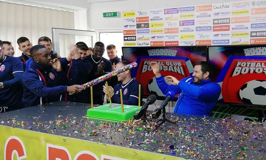 Explozie de bucurie astăzi la conferința de presă a FC Botoșani