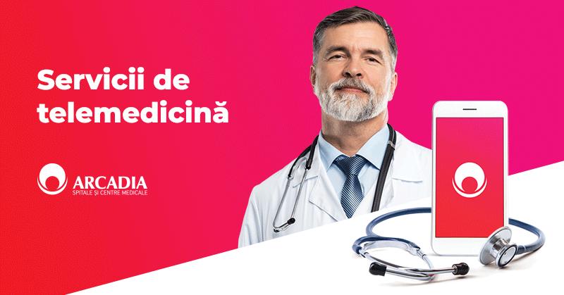 Rețeaua Medicală Arcadia anunță lansarea serviciilor medicale de telemedicină ArcadiaLine pentru pacienți