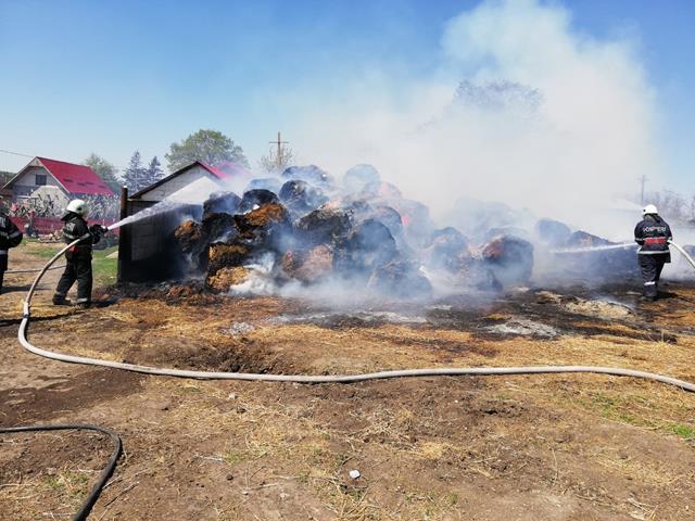 16 incendii în două zile în județul Botoșani