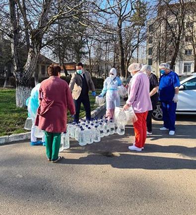 Donație în valoare de 15.000 de lei pentru Spitalul de Boli Infecțioase, din partea unui parlamentar