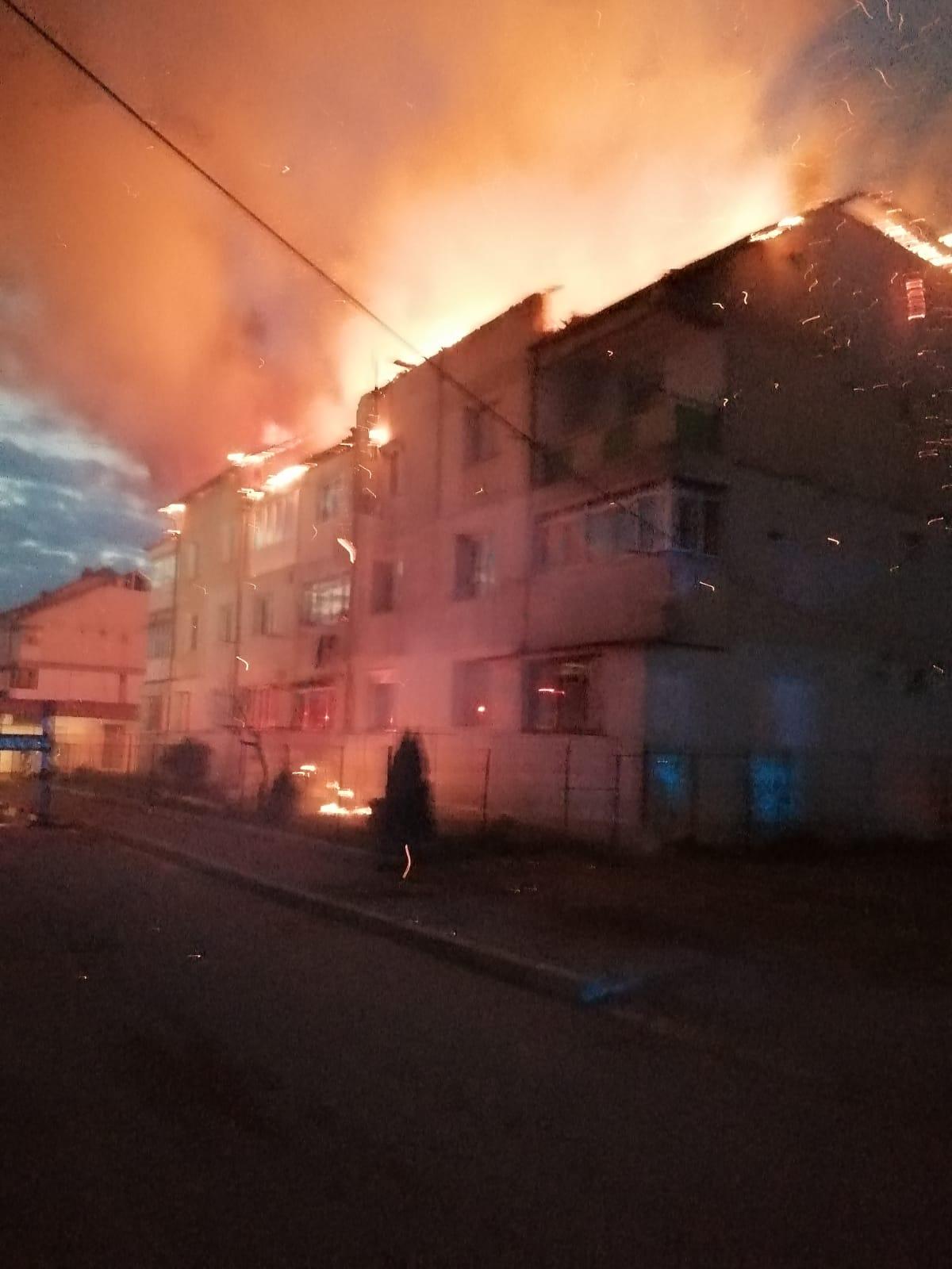 Incendiu de proportii la Bucecea