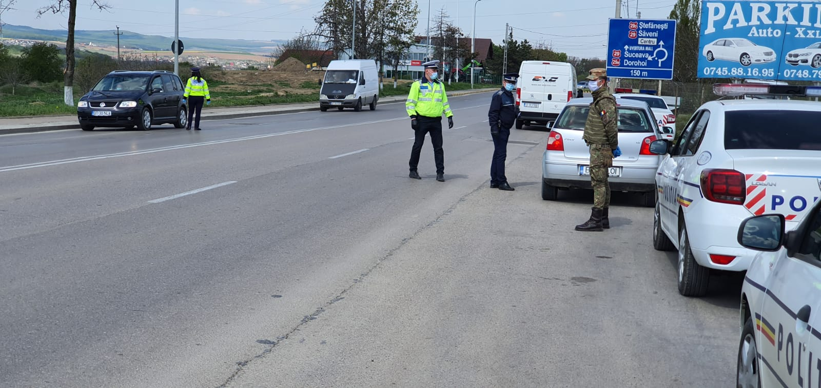 CURG AMENZILE la Botoșani pentru nerespectarea ordonanțelor militare