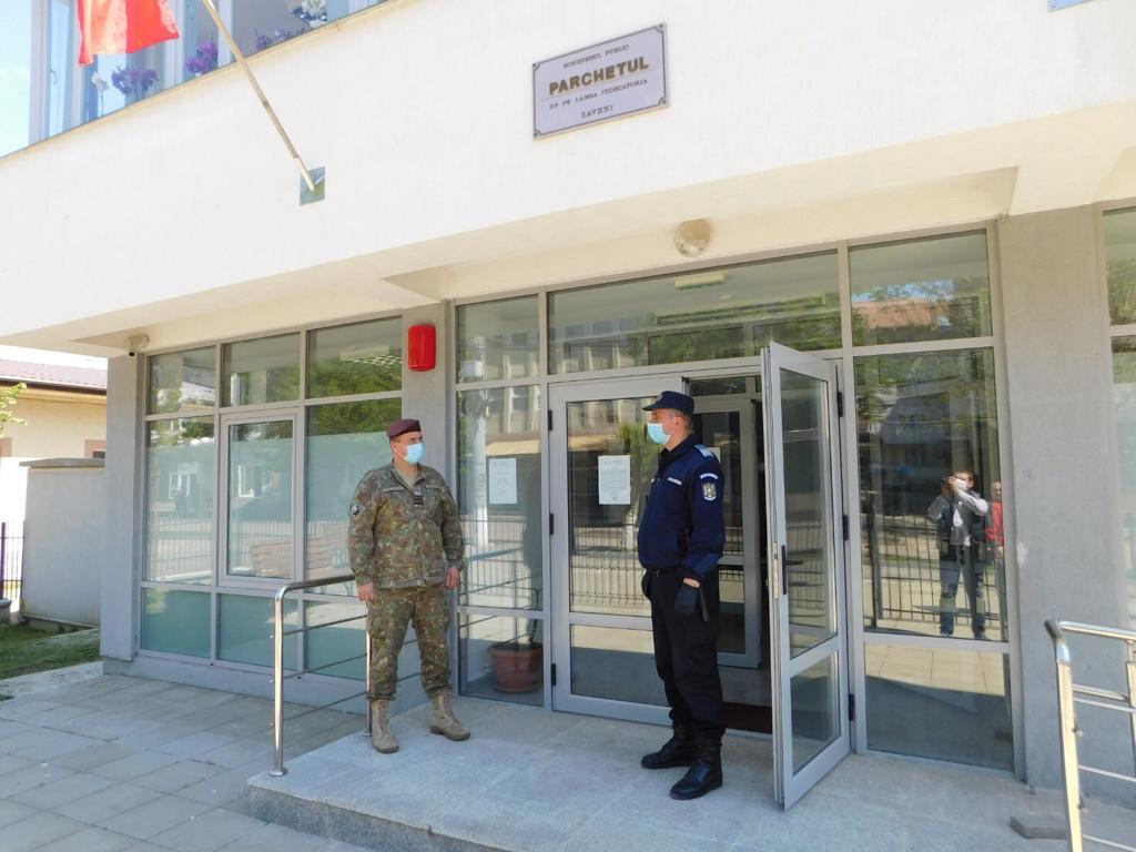 Parchetele de pe lângă Judecătoriile Săveni și Dorohoi vor avea pază militară