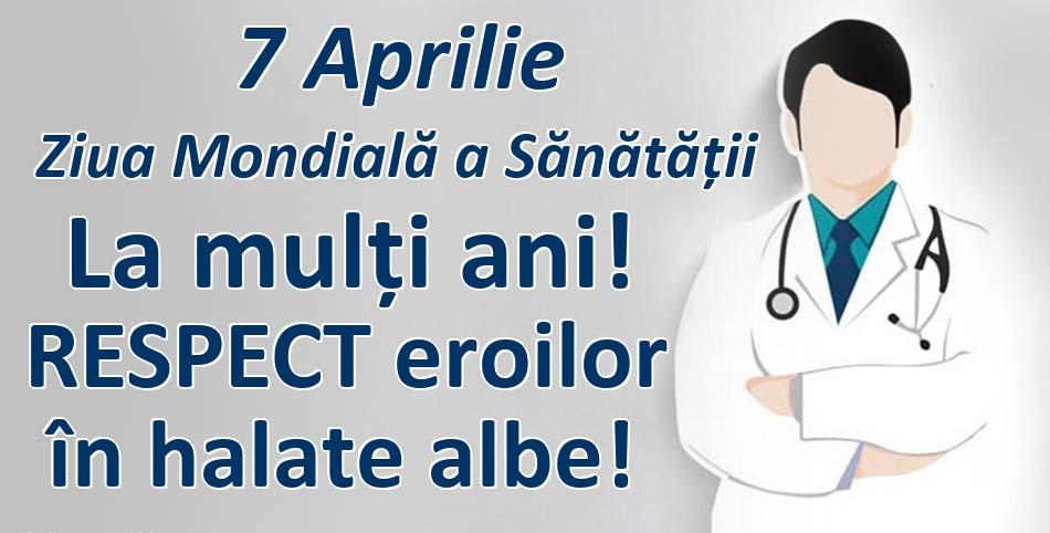"""Filiala ALDE Botoșani: """"La Mulți Ani cu sănătate și respect tuturor cadrelor medicale botoșănene și familiilor acestora!"""""""