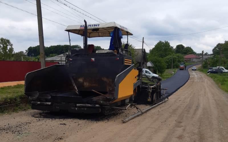 Continuă modernizarea infrastructurii rutiere in județului Botoșani!