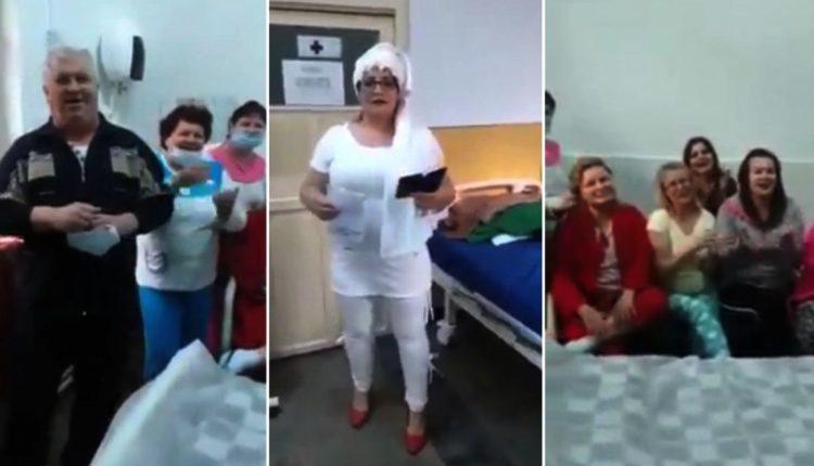 VIDEO/ȘOCANT!  PETERCERE într-un salon cu cadre medicale diagnosticate cu COVID-19, internate la Spitalul Judeţean