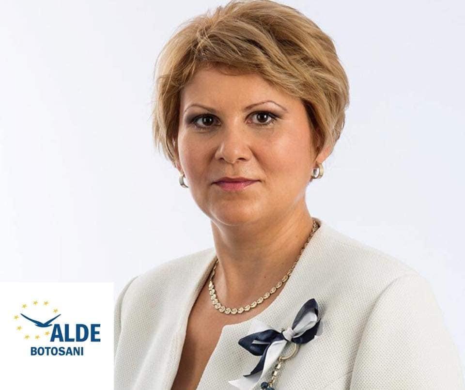 """Roxana Florentina Țurcanu, președinte ALDE Botoșani:  """"Implementarea drumului strategic un real ajutor chiar și în cazul ploilor torențiale!"""""""
