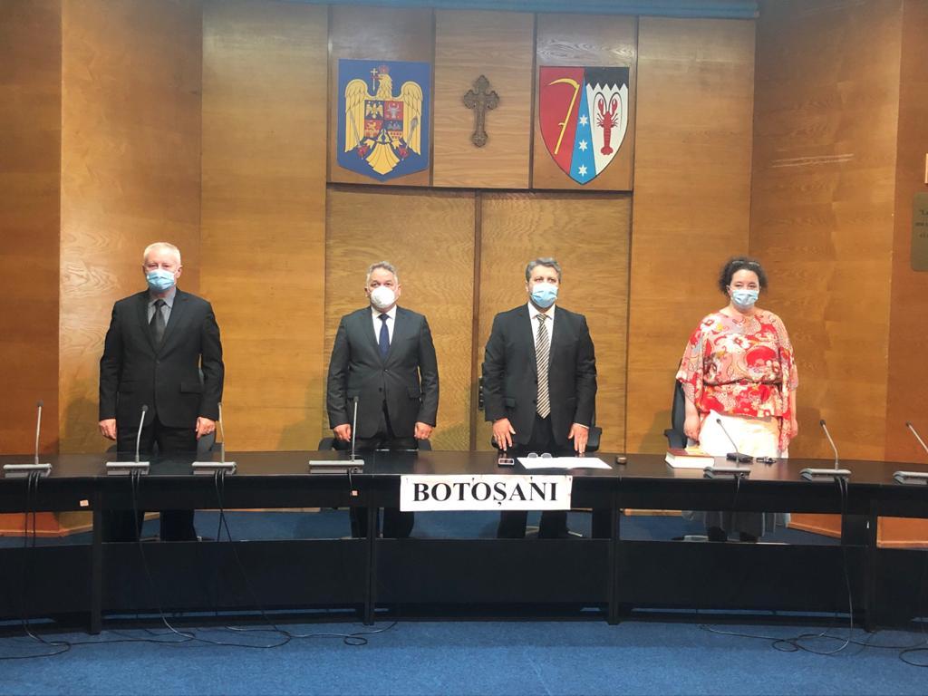 A avut loc învestirea celui de-al doilea subprefect de Botoșani